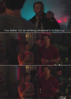 My new favourite scene of Riverdale Riverdale Series, Riverdale Netflix, Riverdale Quotes, Riverdale Funny, Bughead Riverdale, Riverdale Archie, Stupid Funny Memes, Funny Relatable Memes, Hilarious