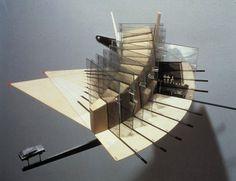 Slow House Model by Diller Scofidio. Concept Architecture, Architecture Drawings, Amazing Architecture, Interior Architecture, Model Driven Architecture, Architecture Diagrams, Cultural Architecture, Architecture Portfolio, Art Design