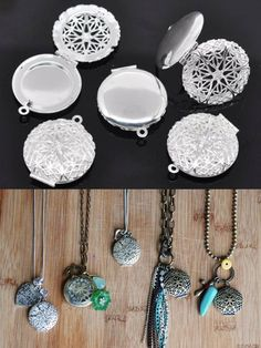 at only about $1 a piece, these diffuser necklaces are a great way to share oils!!