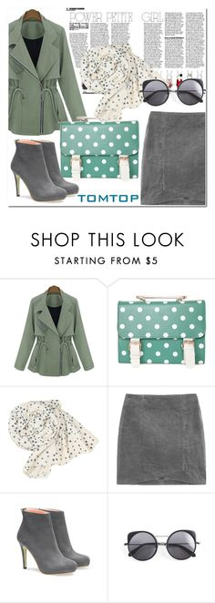 """""""Tomtop 10"""" by nerma10 ❤ liked on Polyvore featuring Wood Wood, vintage, women's clothing, women, female, woman, misses and juniors"""