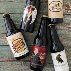 Beer labels and bottle neck labels with your artwork. Upload ...