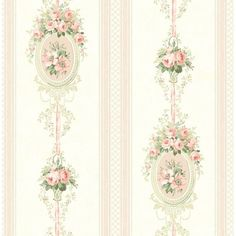 Striped Wallpaper, Wallpaper Roll, Pattern Wallpaper, Beige Wallpaper, Vintage Wallpaper Patterns, French Wallpaper, Victorian Wallpaper, Stunning Wallpapers, Vintage Wallpapers