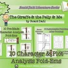 The Giraffe and the Pelly and Me Character Fold-Ems   Product/Materials Preface:  The Giraffe and the Pelly and Me Character Analysis Mini Fold-Ems...