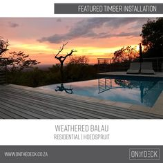 Balau timber is the decking material of choice in humid and wet environments. It performs very well in all conditions. It is also regarded to have a high rot and insect attack resistance. Decking Material, Timber Deck, Screened In Porch, Outdoor Spaces, Home Improvement, Environment, Backyard, Indoor, Beautiful