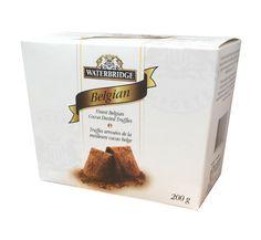 Waterbridge Belgian Dusted Truffle Carton 200g
