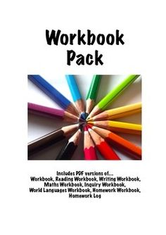 Marking and Expectation File - Includes all 8 workbooks   Includes PDF versions of.... Workbook, Reading Workbook, Writing Workbook,  Maths Workbook, Inquiry Workbook,  World Languages Workbook, Homework Workbook,  Homework Log