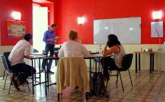 Classroom, Cavendish School of English Malta