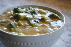 Vegan Recipe For Creamy Soup With Cheese and Broccoli #recipes