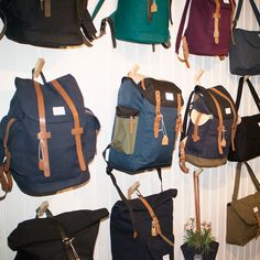 A peek into our Stockholm flagship store #Sandqvist #Stockholm #Sweden #Scandinavia #Bag