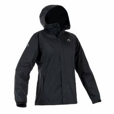 K-Way's Bonnie is a lightweight nylon rip-stop rain jacket. The shell is 100% waterproof, windproof and vapour permeable, with a mesh lining for added vapour permeability. It features volume and visor control, a reinforced peak, and an adjustable hood, hem and cuffs. Engineered arm articulation ensures optimum comfort and easy movement.