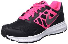 newest c92a2 8ec2c New Nike Girl s Downshifter 6 Athletic Shoes Black Pink Nike Downshifter 6  Big Kids Style