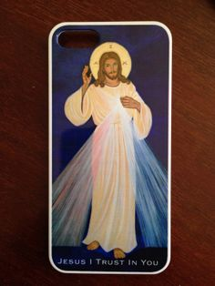 Divine Mercy iPhone 5 cover by vivianimbruglia on Etsy, $25.00