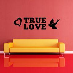 Adesivi da parete True Love Wall Sticker https://www.adesiviamo.it/prodotto/1166/Adesivi-da-parete/Adesivi-da-parete/True-Love-Wall-Sticker-Adesivo-da-Parete.html