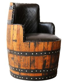Silla de barrica. Barrel chair .