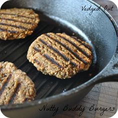 Nutty Buddy Burgers from Nut Butter Universe by Robin Robertson