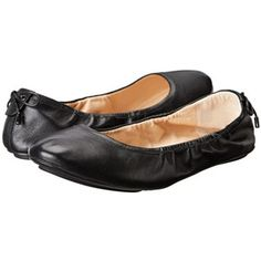 Cole Haan Avery Bow Back Ballet Women's Flat Shoes, Black