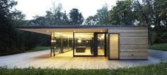 design project haus hainbach moosmann Modern Summer Retreat in Wood and Glass: Haus Hainbach