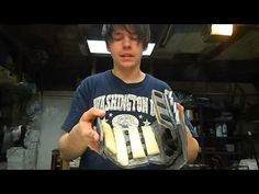 EVA foam armor: strapping/securing - YouTube