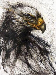 L'artiste chinois Hua Tunan présente un nouveau projet fantastique sur les animaux. Des portraits de lions, d'oiseaux ou encore de poissons créés avec des éclaboussures de peinture, qui sont par la suite affinées manuellement. Un travail d'une ...