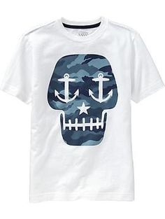 nautical skull graphic tee from old navy $7
