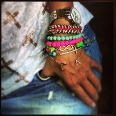 @adriannaplas infinite accessories #21DaysOfLA #Day2 #ArmParty