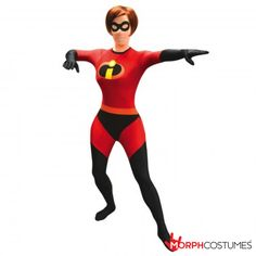 Womens Costume Inspiration: Girls, now you can turn yourself into the sassy superheroine of the much-loved animated film with the Mrs. Best Couples Costumes, Unique Halloween Costumes, Disney Costumes, Costumes For Women, Couples Fancy Dress, Mrs Incredible, Superhero Fancy Dress, Significant Other, Save The Planet