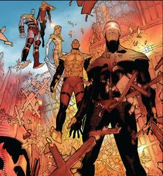 Phoenix Five by Chris Bachalo *