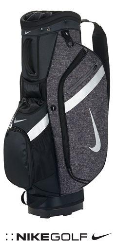 Sac de golf Nike Cart IV Noir et gris - Réalisé dans un matériau léger et résistant, ce sac vous aide à protéger votre équipement sans poids superflu.