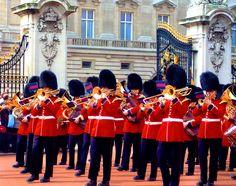 London - The Buckingham Palace