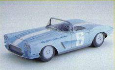 1962 Tokoro's Corvette Paper Car Free Paper Model Download - http://www.papercraftsquare.com/1962-tokoros-corvette-paper-car-free-paper-model-download.html#124, #TokoroSCorvette