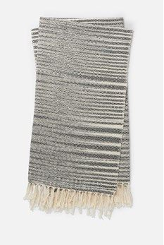Keep warm with the Magnolia Home by Joanna Gaines Jane Throw Blanket. Made from soft cotton, this cozy blanket features a lovely color and playful fringe to give you the perfect amount of comfort and style as you relax. Magnolia Home Collection, Black Couches, Magnolia Joanna Gaines, Comfortable Couch, Home Decor Colors, Magnolia Homes, Cozy Blankets, Keep Warm, Cozy House