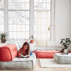 Oversized cushions = a dream come true. #UOHome