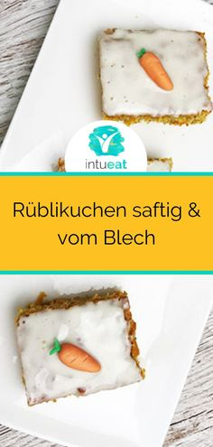 Rüblikuchen not only tastes particularly good around Easter. Best Cake Recipes, Carrot Cake, How To Make Cake, Bakery, Hanukkah, Easy Meals, Easter, Snacks, Canning