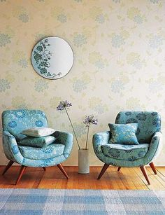 Have always loved these Laura Ashley chairs Laura Ashley Chairs, Sofa Design, Funky Furniture, Furniture Design, Muebles Living, Living Room Chairs, Soft Furnishings, Decor Interior Design, Architecture Design