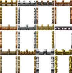 RPG Maker VX - Fences by Ayene-chan.deviantart.com on @deviantART