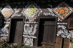 Zalipie - malowana wieś / Zalipie - painted village | Flickr - Photo Sharing!
