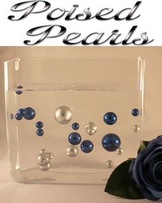 Poised Pearls  http://www.ebay.co.uk/itm/Poised-Pearls-Stunning-Wedding-Table-Decorations-Magic-Suspended-Pearls-/251423848648?pt