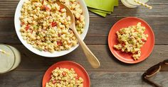 How to make the best, classic macaroni salad with Just Mayo. Just For All.