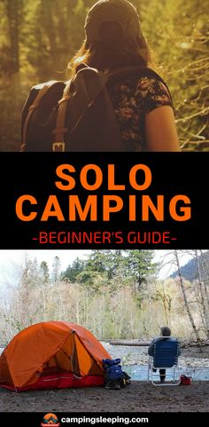 Experienced campers go for solo camping without giving it a second thought. The beginners especially youngsters are a bit hesitant considering the risk factors attached to it. In the article you will get all the things you need to know as a beginner camping alone. #camping #campingsleeping #campingsolo #outdoors