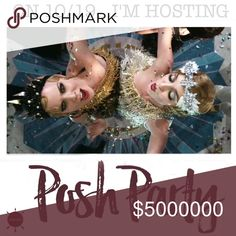 POSH PARTY 🎉 Join me on 10/19 as I co-host a Posh Party! Special deals in my closet will be occurring throughout the day! If you don't already follow me, @posher411, please do so and tag your PFF's below. ALL listings I've been tagged in prior to the party will STILL be shared to my followers :). CO-HOSTING A POSH PARTY  Other