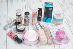 New at the Drugstore Makeup Haul September 2016 featuring Real Techniques, Rimmel, Maybelline, UNT, Collection, L'Oreal and more...