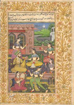 Mughal Miniature Harem Art