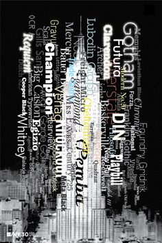 AIGANY 30th by Paula Scher http://typotalks.com/london/2012-2/speakers/