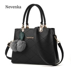 Nevenka Women Bag Original Female Briefcase Handbag OL Shoulder Bag PU Messenger Bags Casual Crossbody Bags Purse Satchel Tote -- Click the VISIT button to enter the website