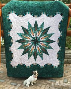 Vintage Compass, Quiltworx.com, Made by CI Janet Spinks
