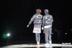 TVXQ! Rehearsing for the 'TVXQ! SPECIAL LIVE TOUR - T1ST0RY- in SHANGHAI'.