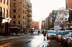 SoHo, Manhattan, after Snow