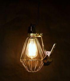 new telegram papergoods clip lamp