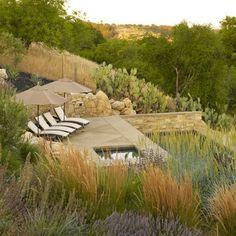 Wine Country Residence - contemporary - pool - san luis obispo - Jeffrey Gordon Smith Landscape Architecture