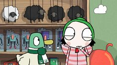 """""""'Duck's Quack' seems to be broken, so Sarah & Duck try to find him a new one at 5:10pm on @CBeebiesHQ!"""""""